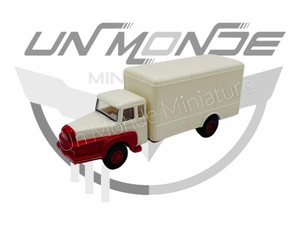 Unic à 122 Wagon Conteneur Blanche Rouge
