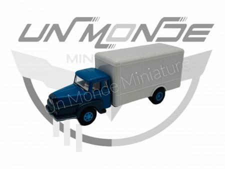 Unic à 122 Wagon Conteneur Bleu Gris