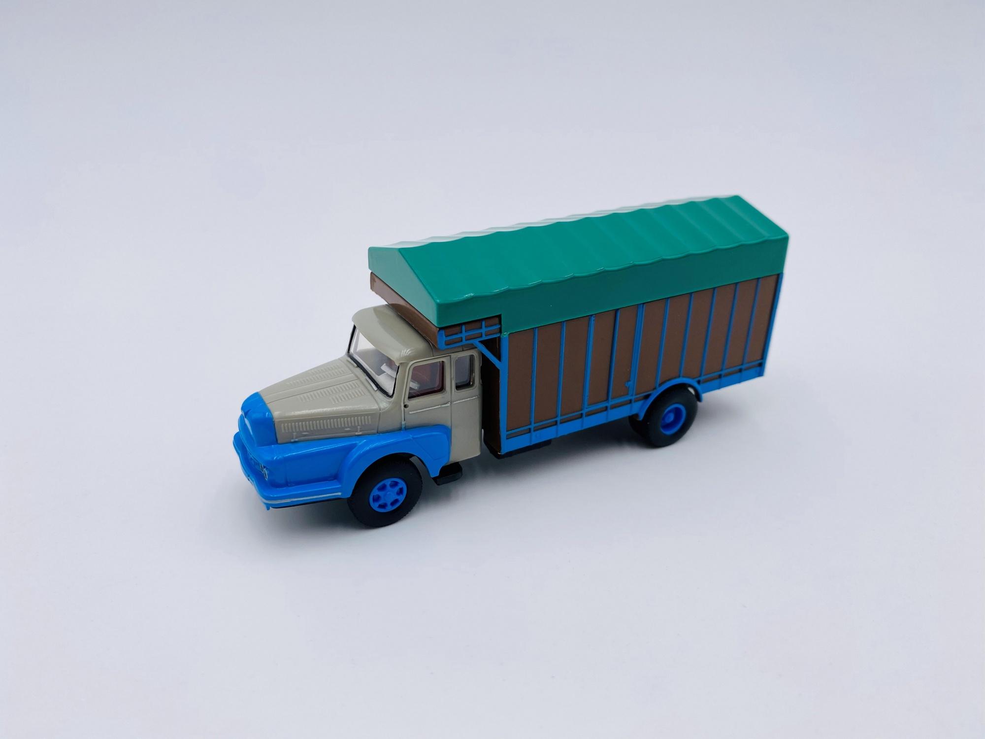 Unic ZU 122 de 1959 Gris & Bleu
