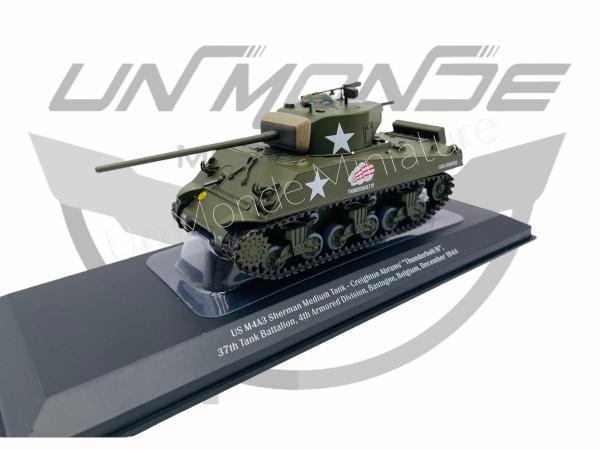US M4A3 Sherman Medium Tank 37th Battalion 41th