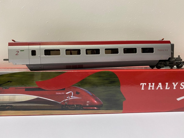 Voiture Complémentaire TGV THALYS PBKA 2éme Classe SNCF