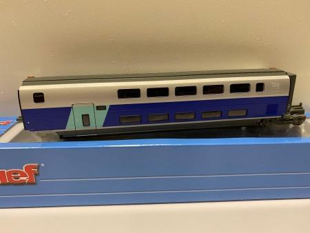 Voiture Intermédiaire TGV 2N2 EuroDuplex SNCF