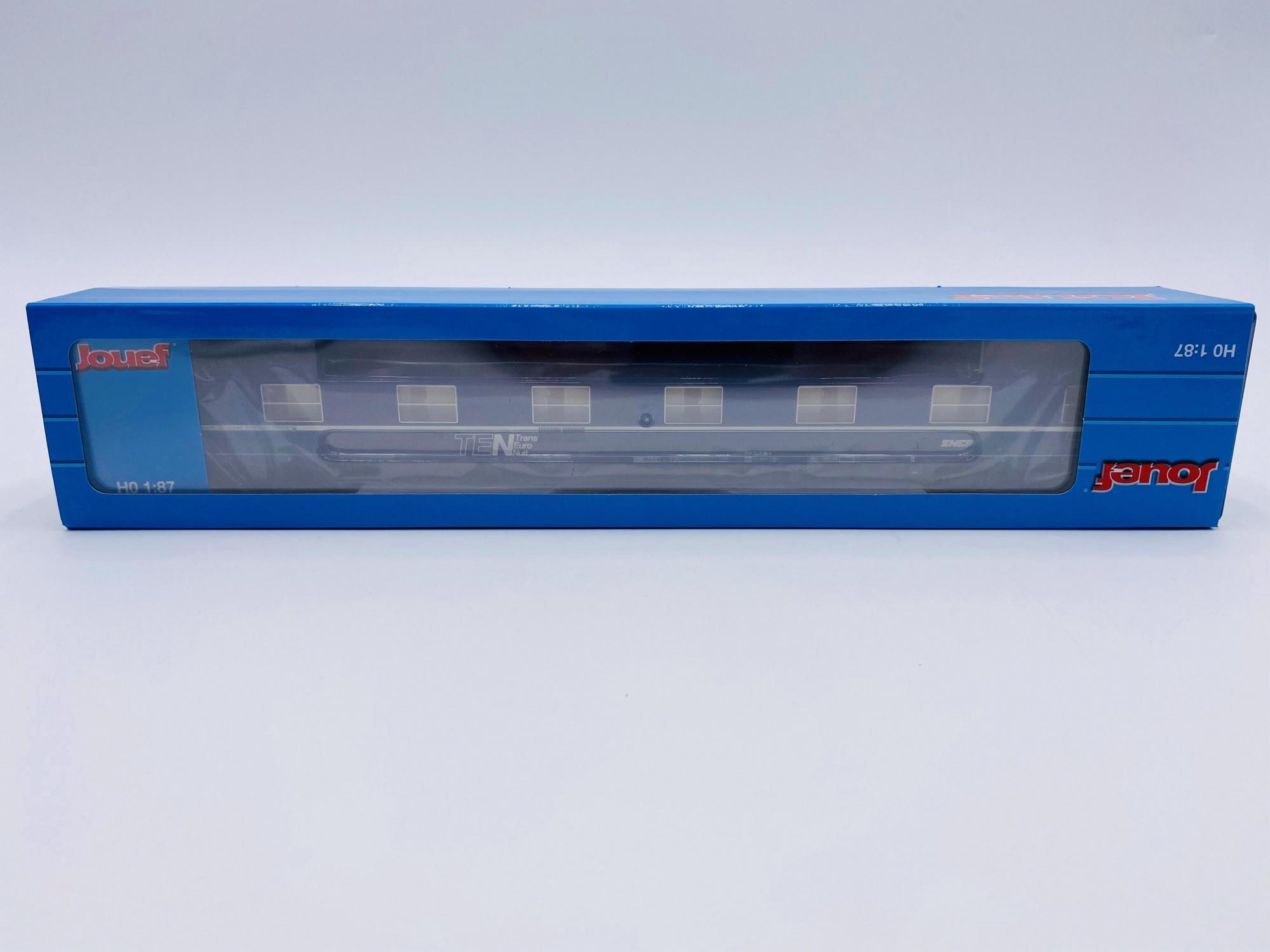 Voitures Lits Type T2 TEN Livrée Bleue & Blanche SNCF