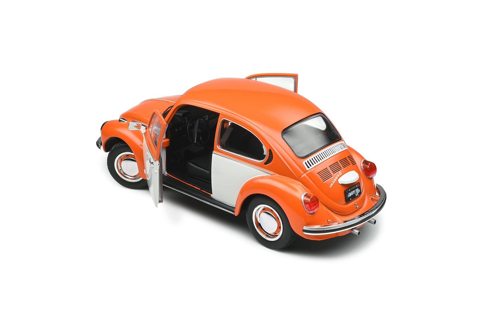 Volkswagen Beetle 1303 Bi Color Orange 1974