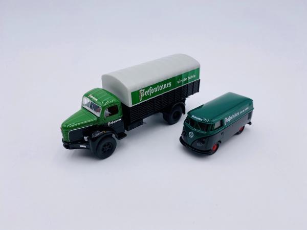 Volkswagen Berliet Set T1b et GLR 8 PP Prefontaines