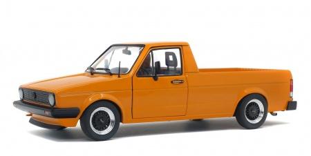 Volkswagen Caddy MK1 Custom Orange Metallic