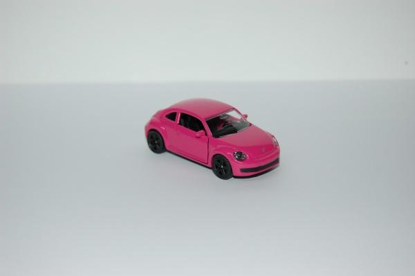 Volkswagen Coccinelle Rose avec Fleurs
