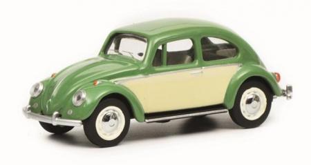 Volkswagen Coccinelle Verte & Beige