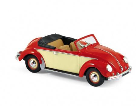 Volkswagen Hebmüller 1949 Red & Creme