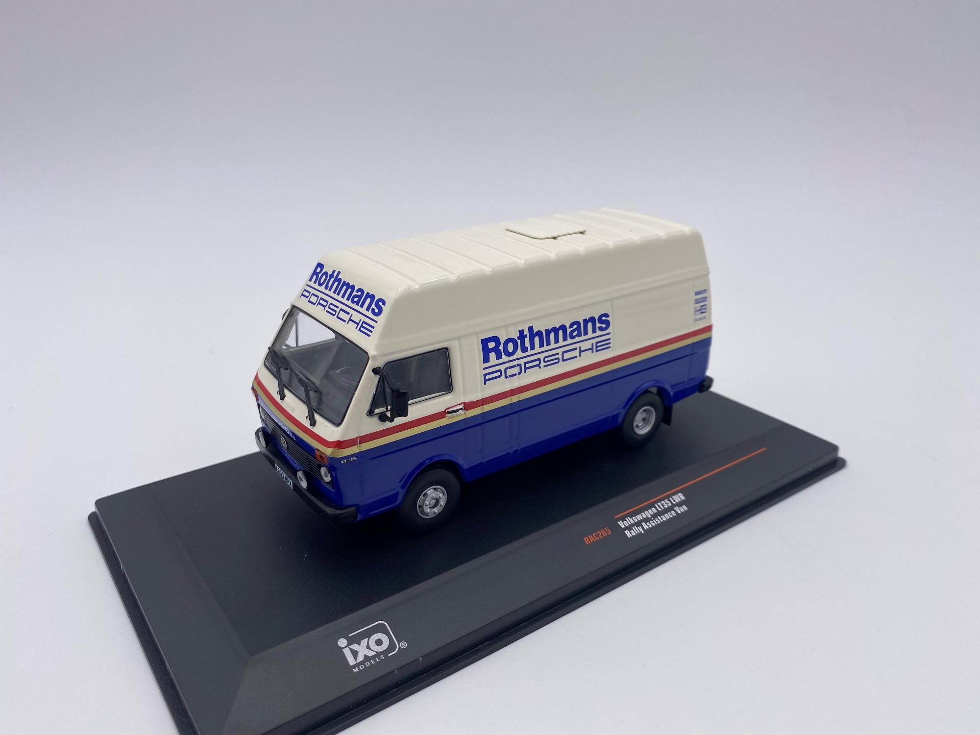 Volkswagen LT Rallye Assistance