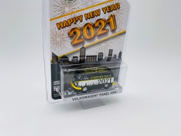Volkswagen Panel Van Happy New Year 2021