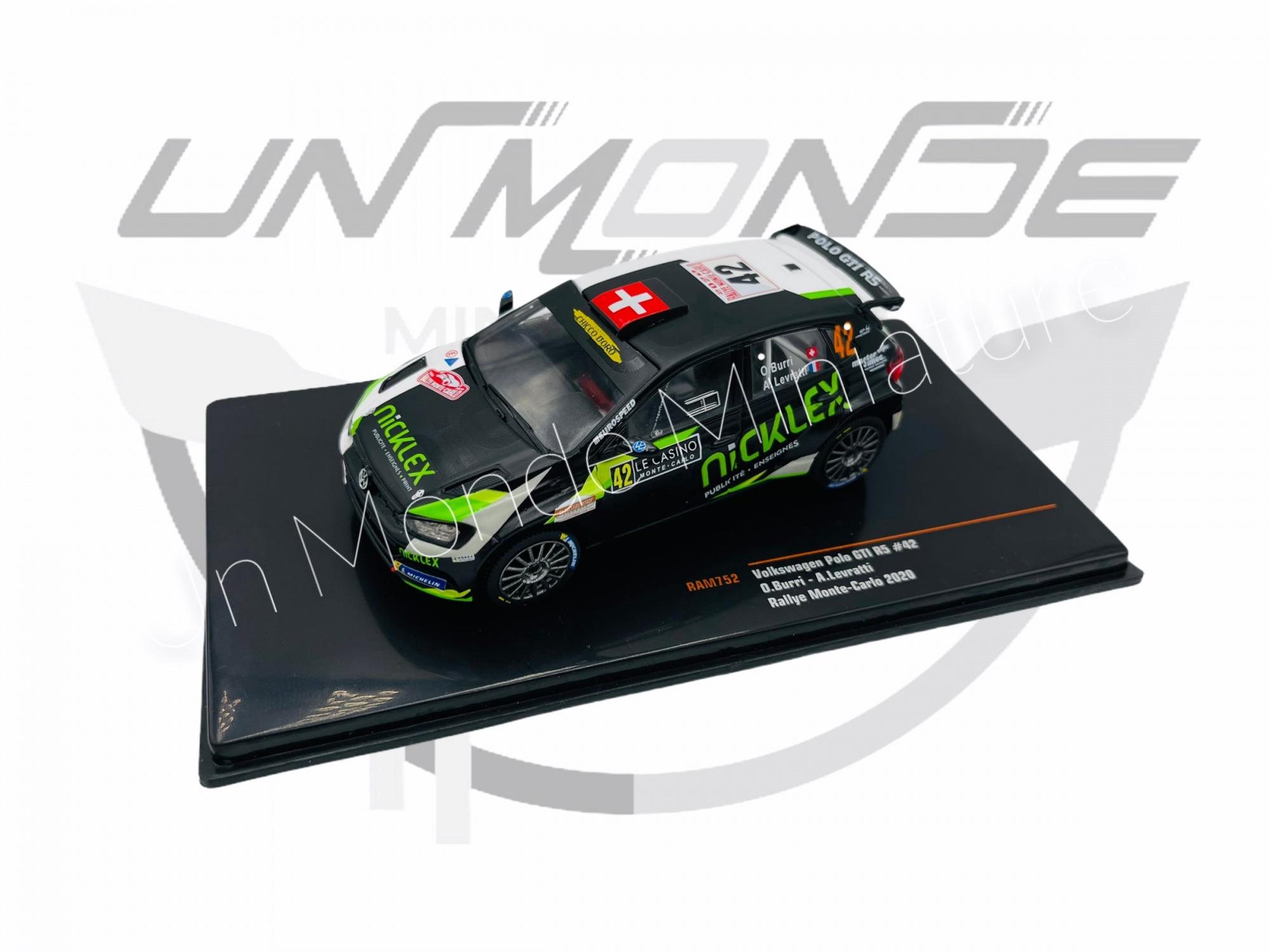 Volkswagen Polo GTI r5 #42  Rallye Monte Carlo 2020