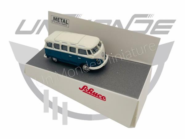 Volkswagen T1c Samba Bleu & Blanc