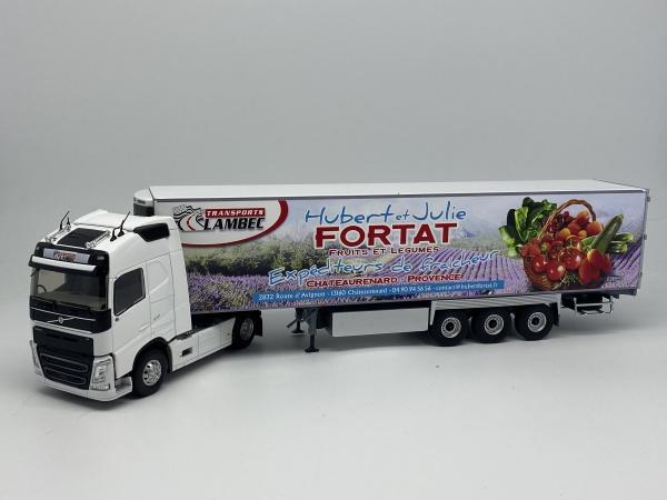 Volvo FH4 Semi Frigo Transport LAMBEC FORTAT