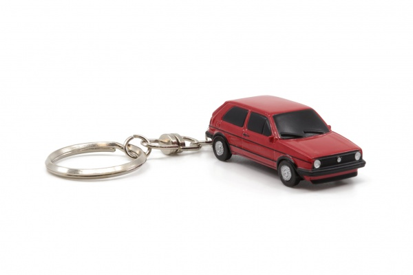 VW GOLF 2 GTI Red Key Chain