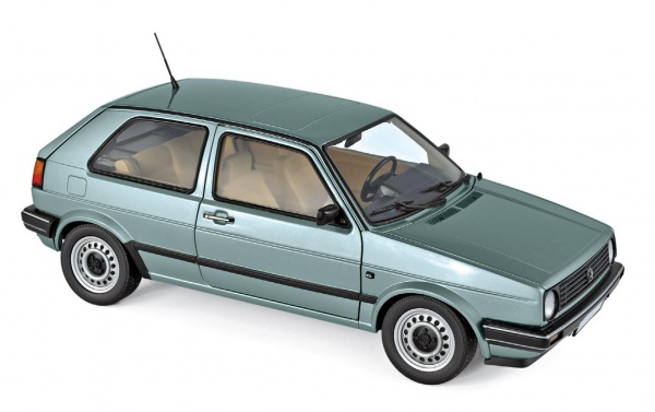 VW Golf CL 1987 Light Green Métalic