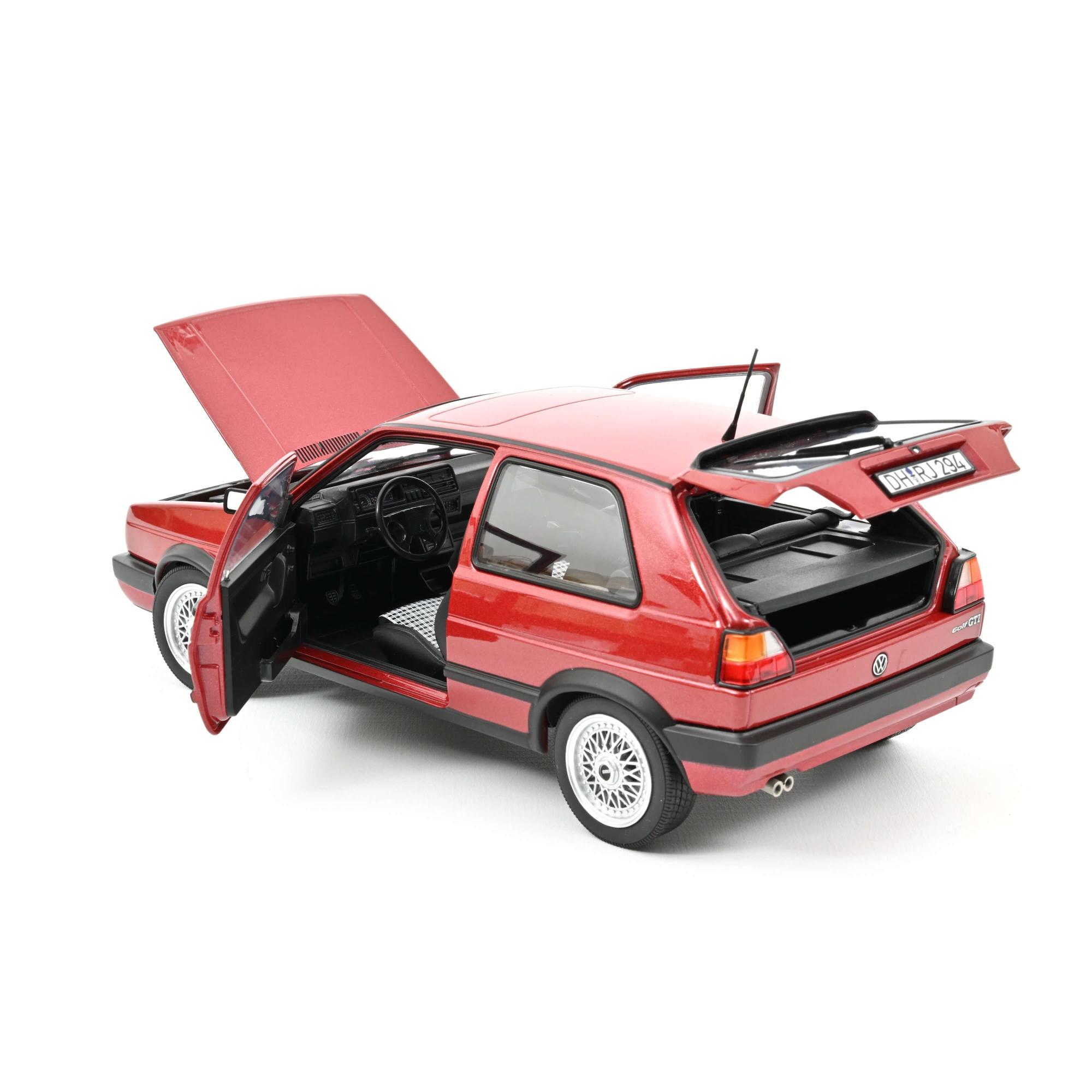 VW Golf GTI 1990 Red metallic
