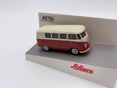 VW T3 Bus Beige & Rouge