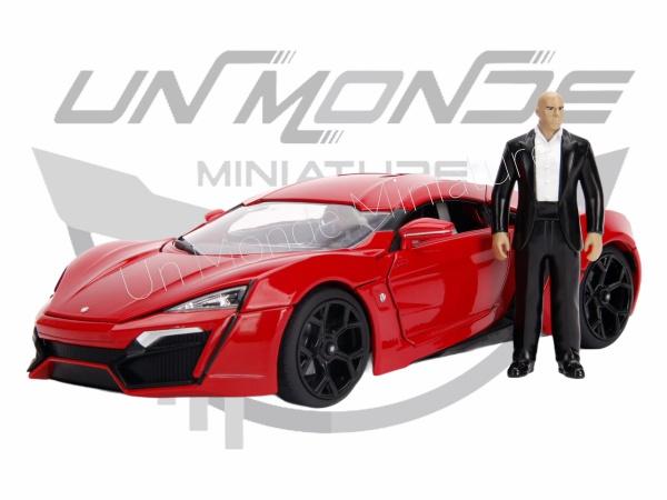 W Motors Lykan Hypersport W/Dam\'s Figure Red