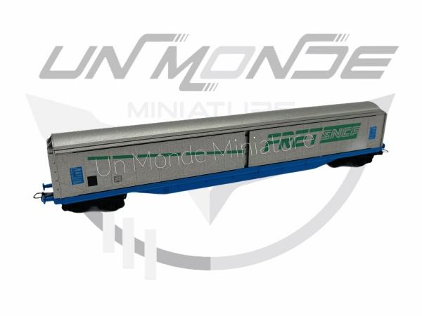 Wagon Couvert à Essieux FRET SNCF