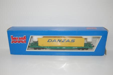 Wagon Plat Porte Container DANZAS